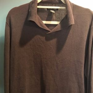Men's Kenneth Cole Lightweight Sweater/Shirt Large
